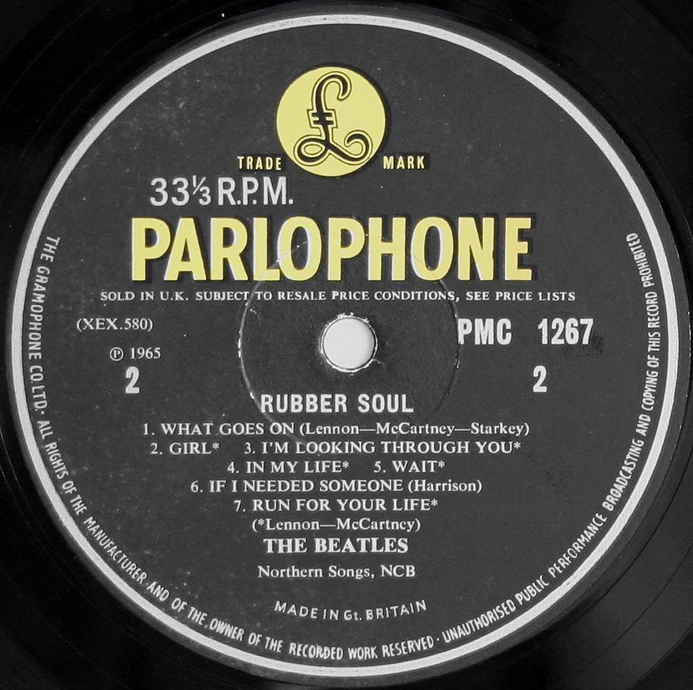 The Beatles Collection 187 Rubber Soul Parlophone Pmc 1267