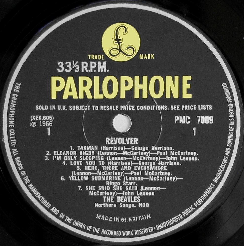 The Beatles Collection 187 Revolver Parlophone Pmc 7009
