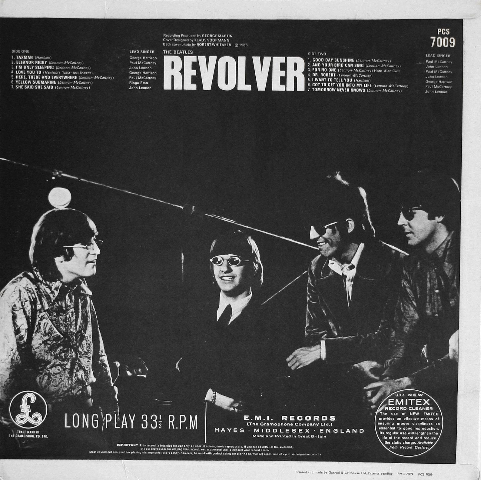 The Beatles Collection » Revolver, Parlophone, PCS 7009