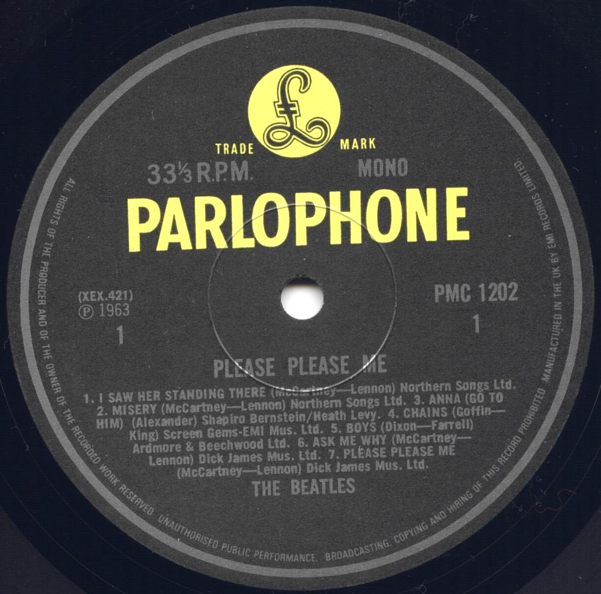 The Beatles Collection » 02  Beatles on Parlophone Records  Part 1