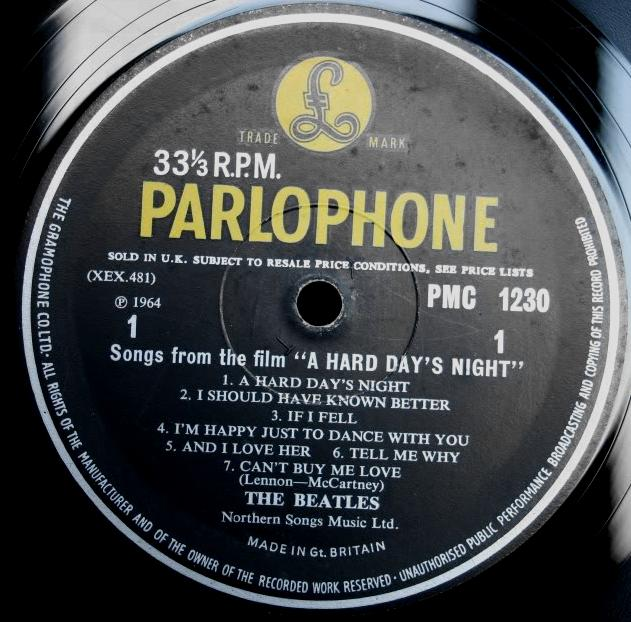 The Beatles Collection 187 A Hard Day S Night Parlophone