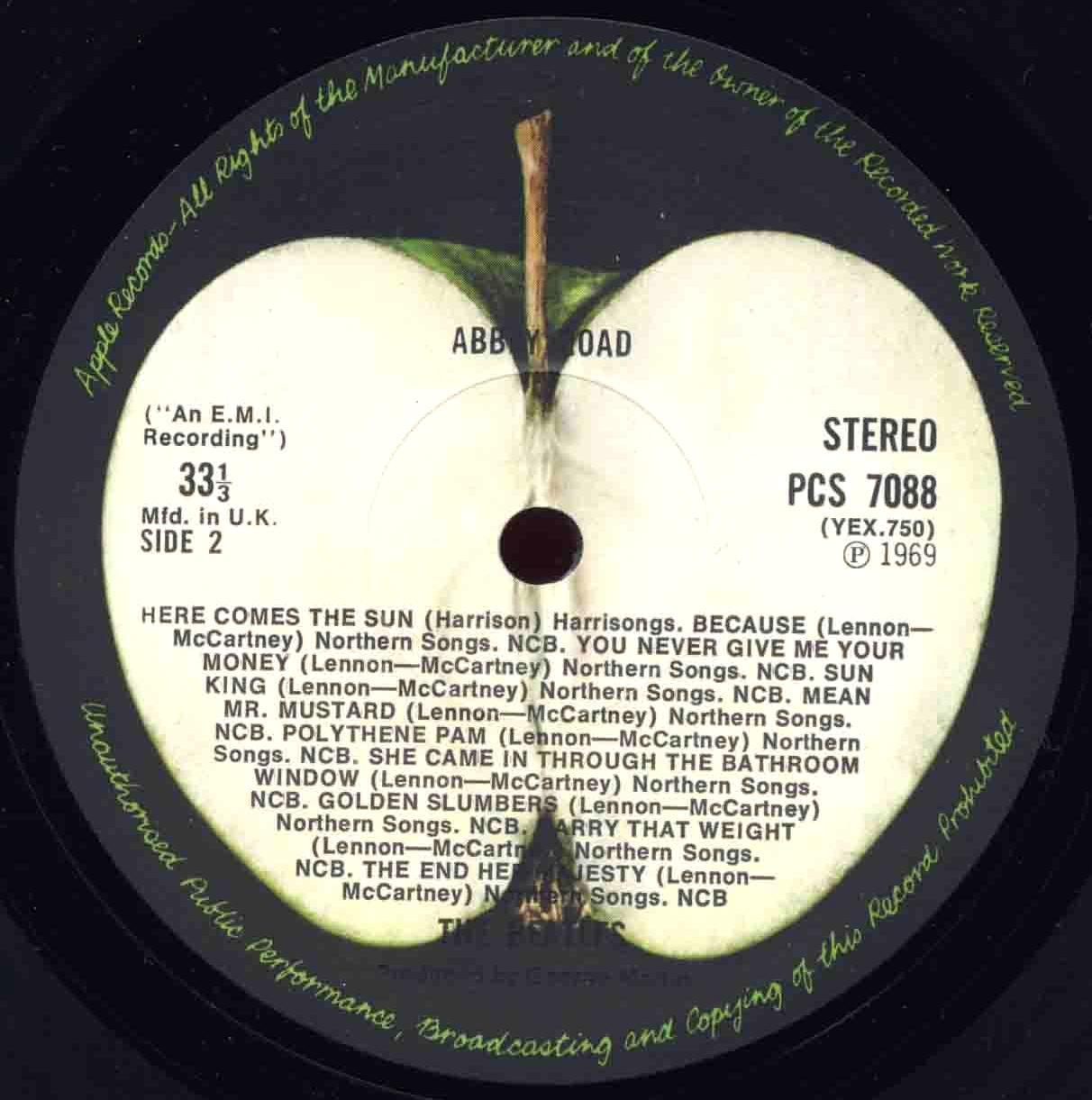 meet the beatles label variations on america