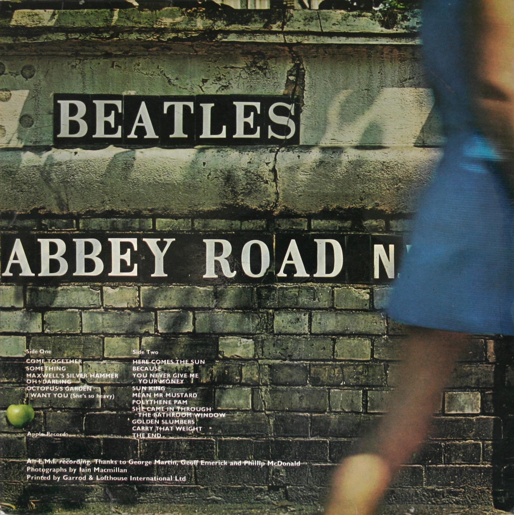 The Beatles Collection 187 Abbey Road Pcs 7088