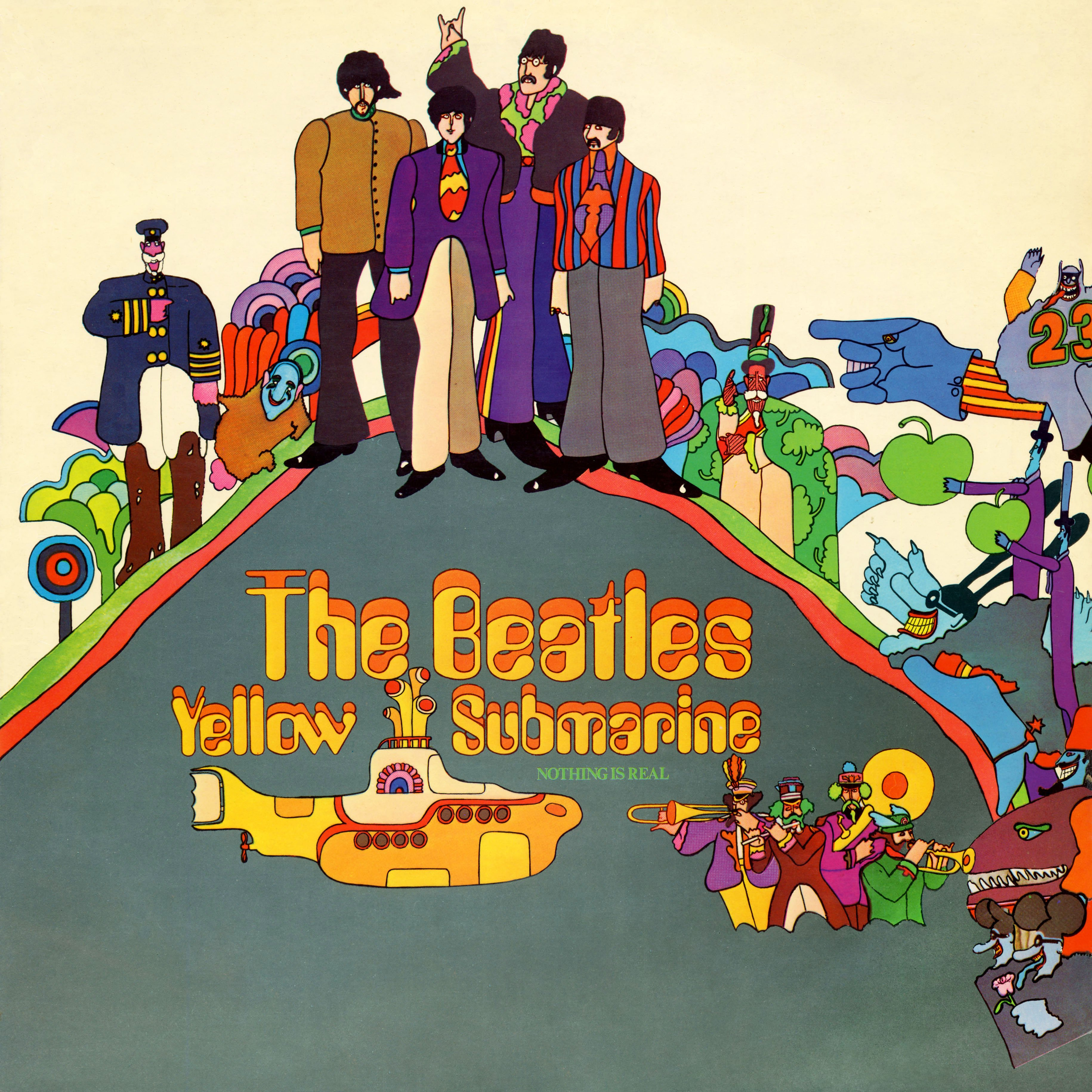 The Beatles Collection 187 Yellow Submarine Apple Pcs 7070