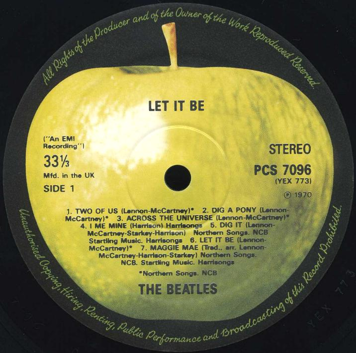an analysis of the record cover and symbolism of let it be Let's dance is the title-track from english singer david bowie's 1983 album of the same name.