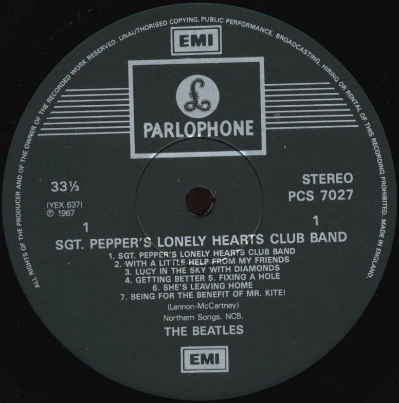 The Beatles Collection 187 Parlophone Labels