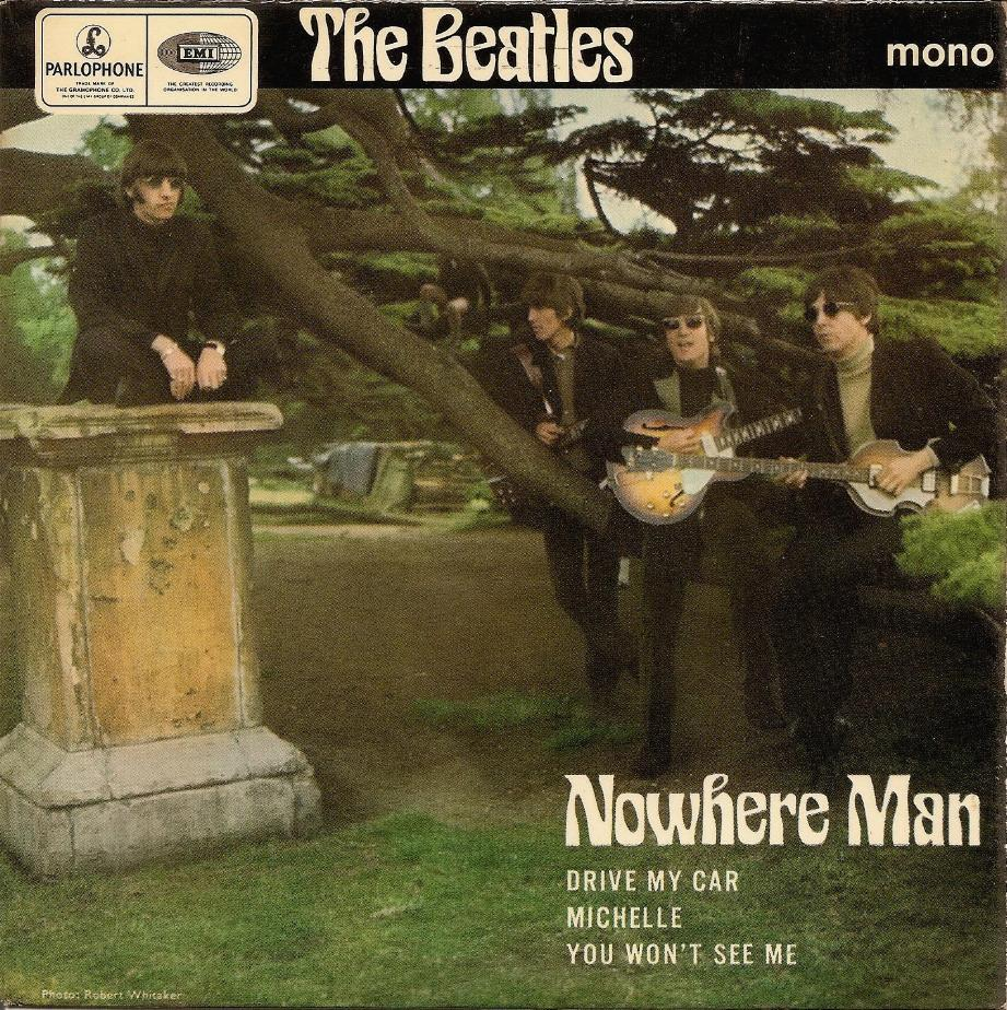The Beatles Collection » Nowhere Man, Parlophone GEP 8952
