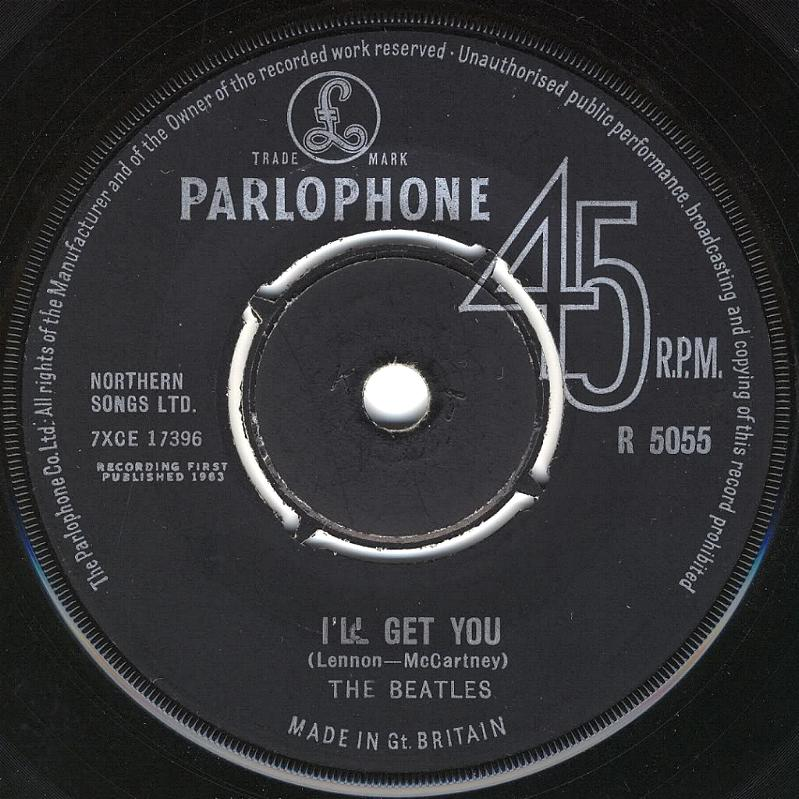 The Beatles Collection 187 She Loves You I Ll Get You