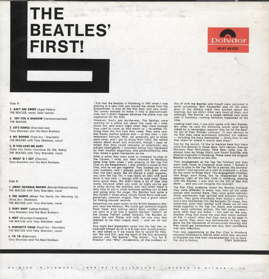 The Beatles Collection » Search Results » Beatles For Sale