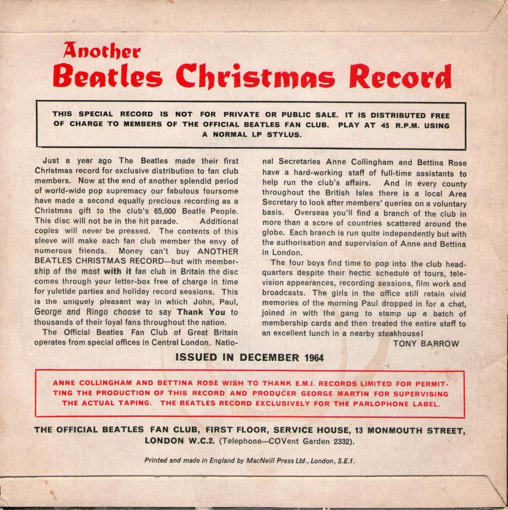 Image result for another beatles christmas record