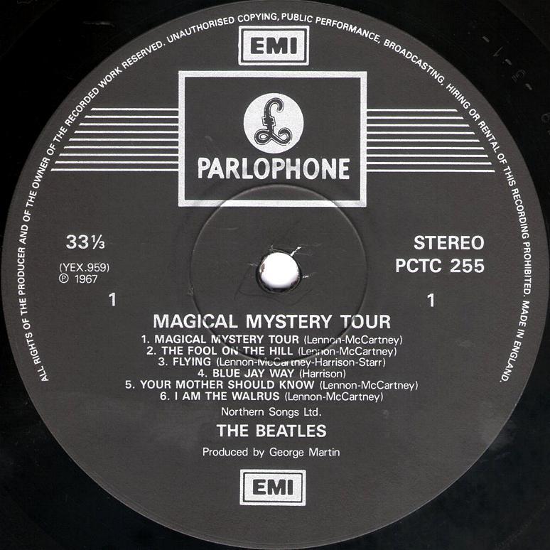Listen To Full Album Magical Mystery Tour
