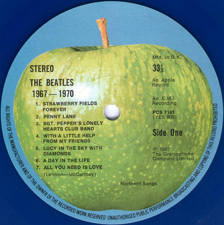 The Beatles Collection 187 The Beatles 1967 1970 Apple Pcsp