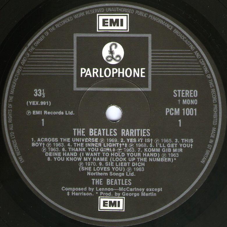 Rarities 1001 1st 1979 01