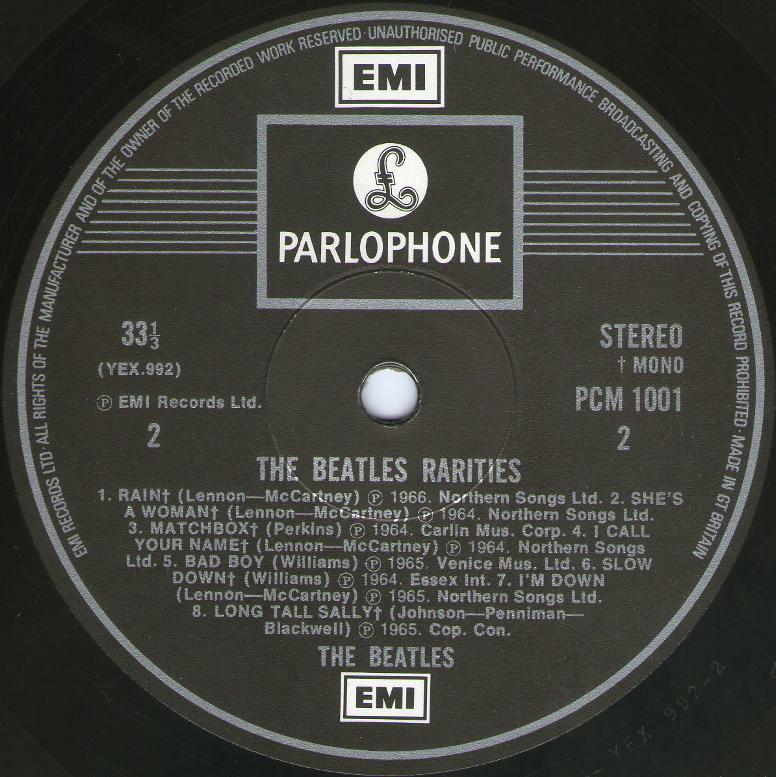 Rarities 1001 1st 1979 02