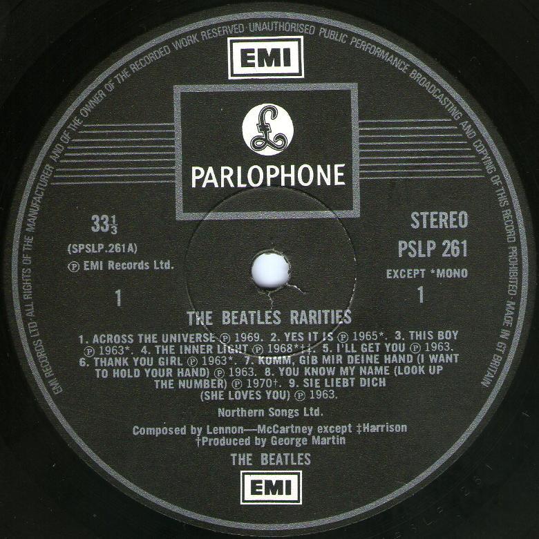 Rarities 261 1st 1978 01