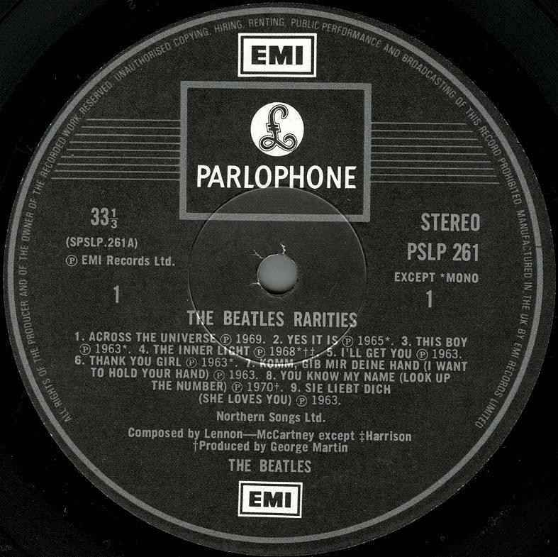 Rarities 261 3pr 1987 01
