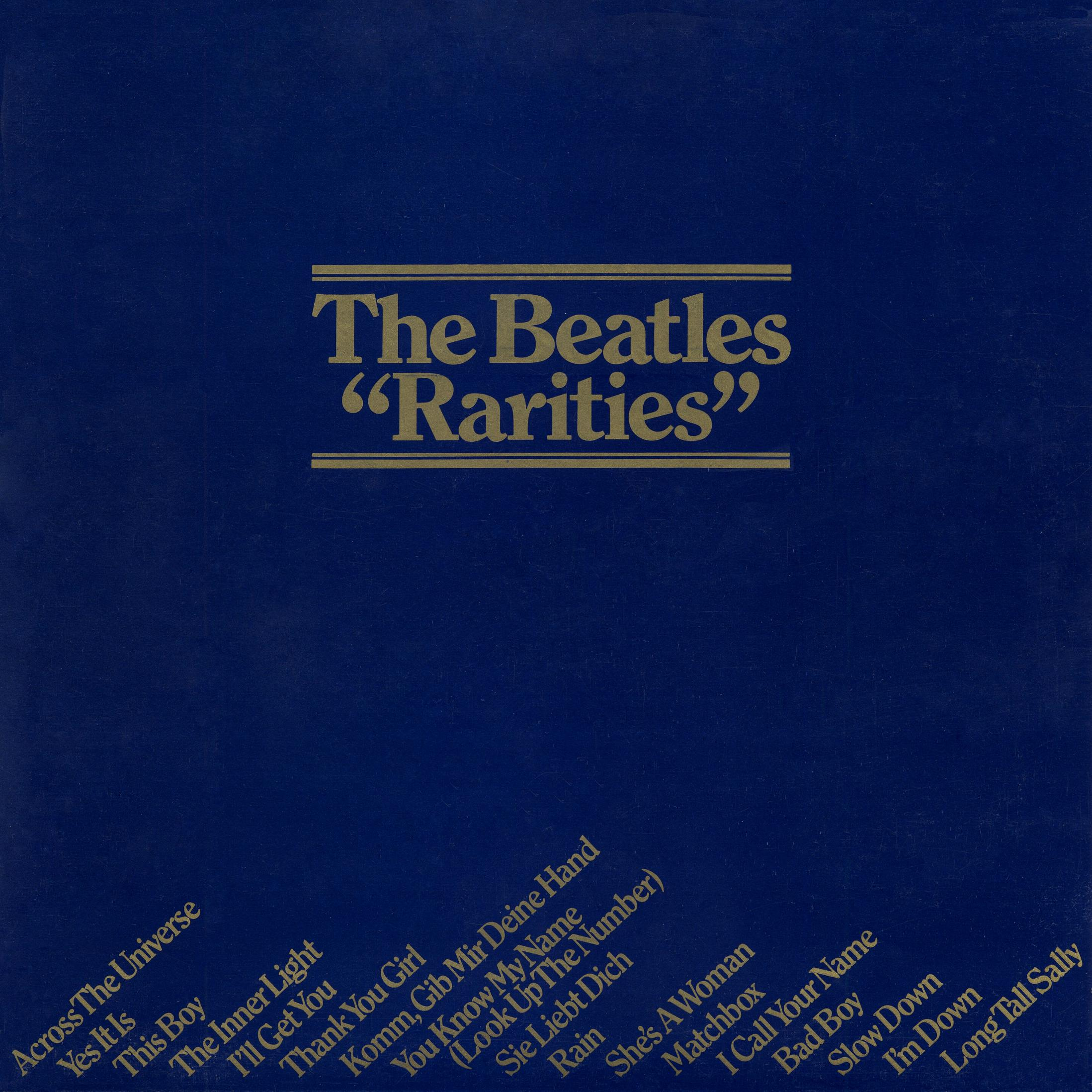 The Beatles Collection 187 The Beatles Rarities