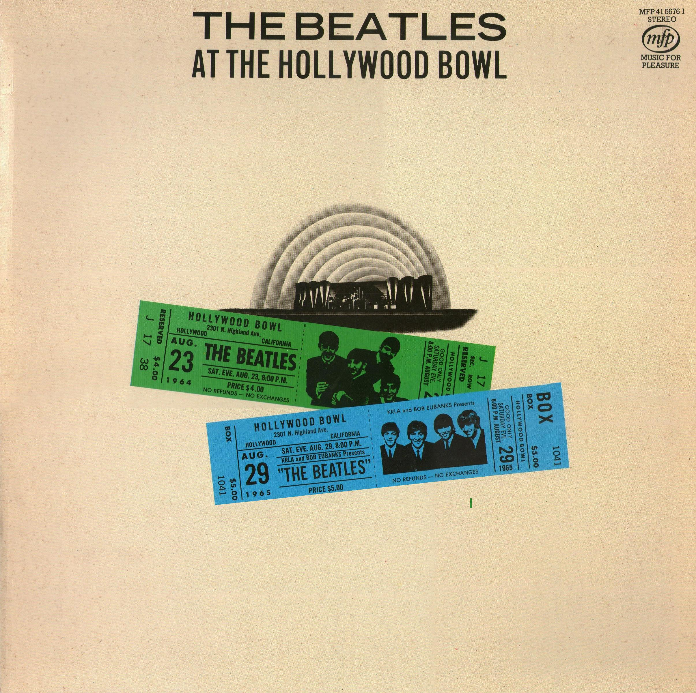 The beatles collection the beatles at the hollywood bowl hp sleeve 4 hexwebz Choice Image