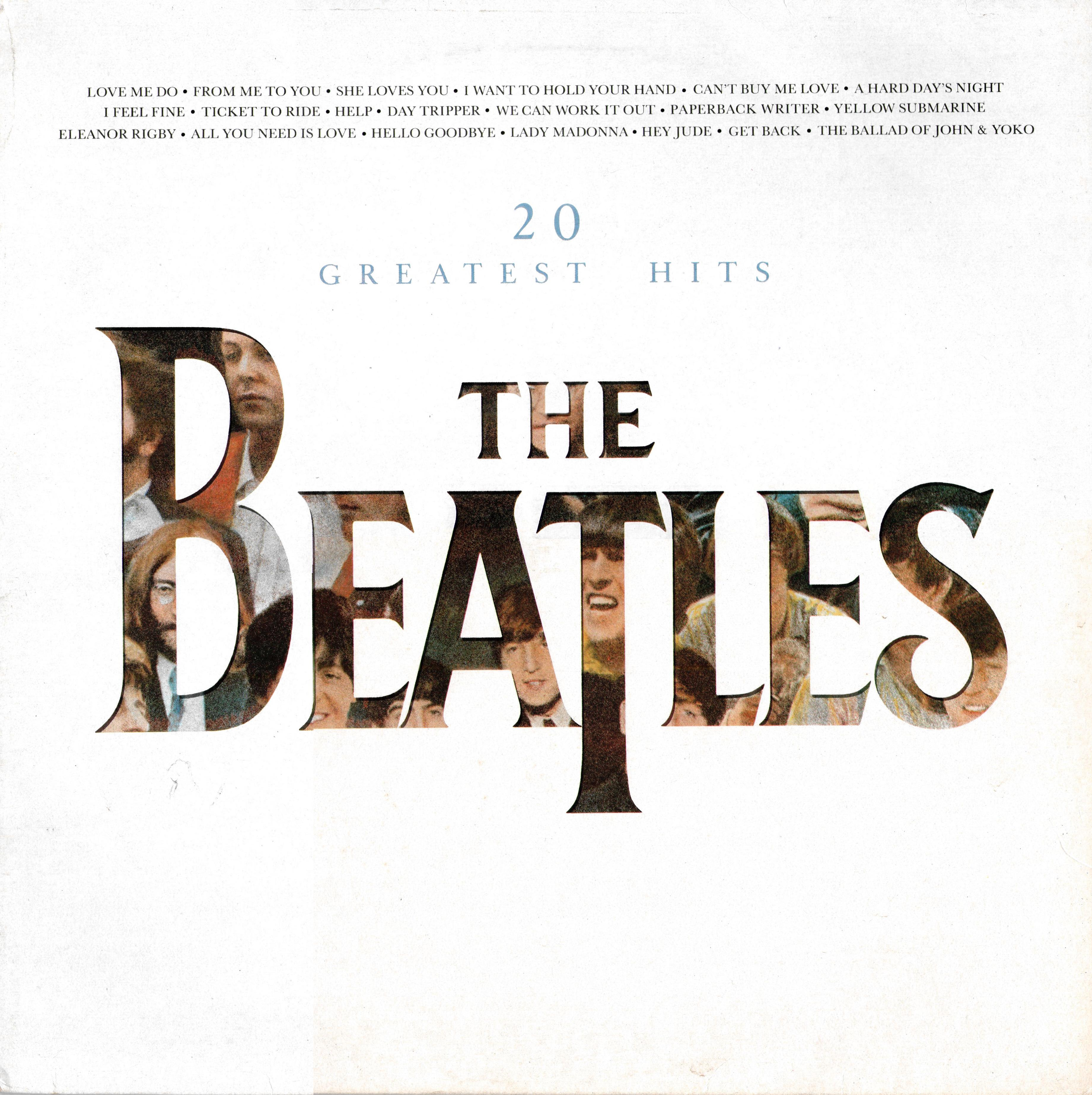 the beatles collection 20 greatest hits parlophone pctc. Black Bedroom Furniture Sets. Home Design Ideas