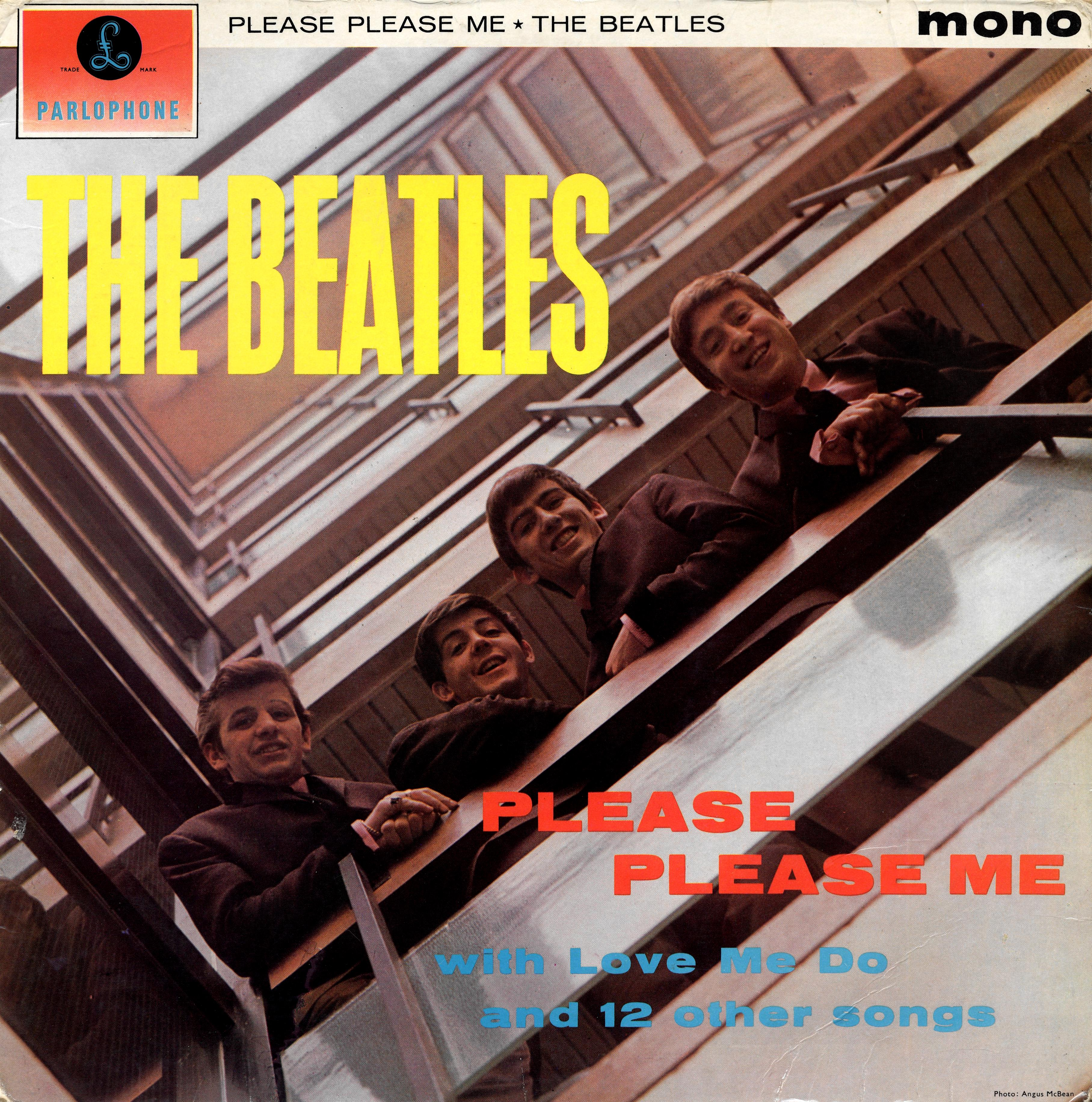 the beatles collection please please me parlophone pmc 1202. Black Bedroom Furniture Sets. Home Design Ideas