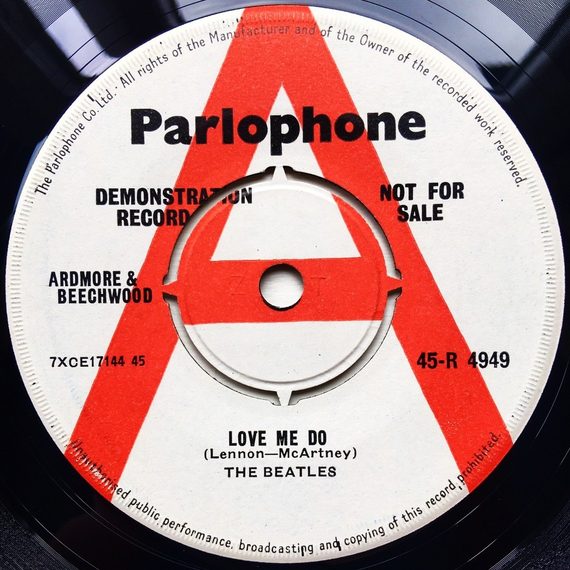 beatles love me do 45 value